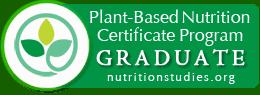 plant based nutrition graduate